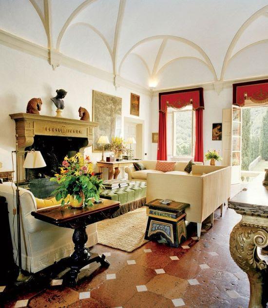 Photos: The Decadent Italian Interiors of Villa Cetinale in Tuscany   Vanity Fair