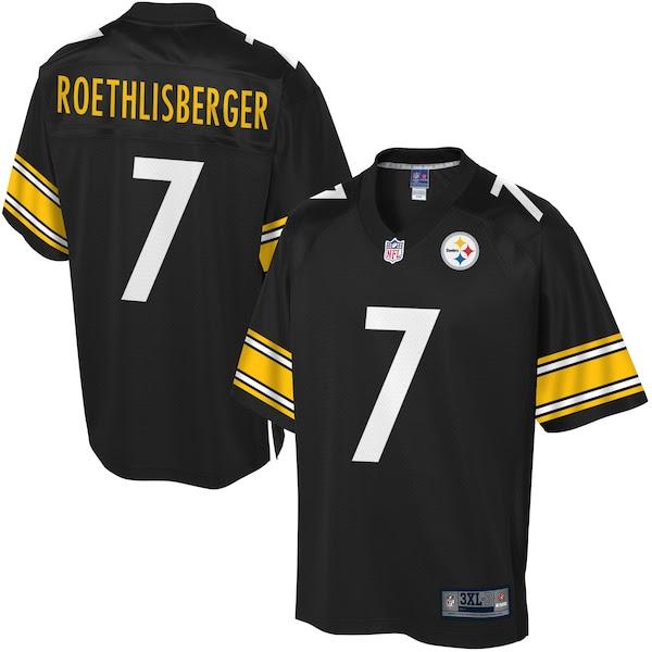 NFL Pro Line Mens Pittsburgh Steelers Ben Roethlisberger Big  Tall Team Color Jersey  NFLShop.com