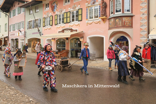Fasching, Maschkera, Oimrausch: pre-Lent shenanigans in southern Germany