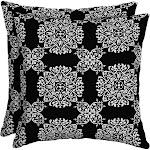 Better Homes & Gardens 16 x 16 in. Outdoor Toss Pillow Tulip Medallion - Set of 2