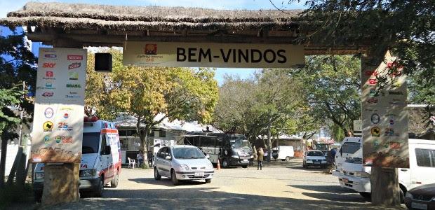 Acampamento tem pelo menos 9 entradas diferentes (Foto: Luiza Carneiro/ G1)