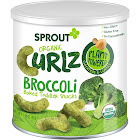 Sprout Curlz Snacks, Organic, Broccoli, Baked, Toddler - 1.48 oz