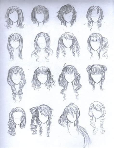 anime hairstyles female trends hairstyles