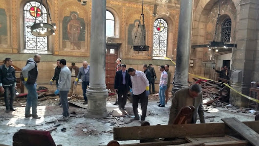 25 killed in bombing at Coptic cathedral in Egypt