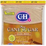 C & H Pure Cane Sugar, Golden Brown - 2 lb