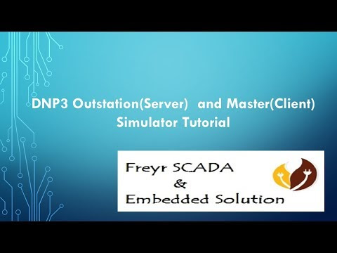 DNP3 Outstation Server Simulator