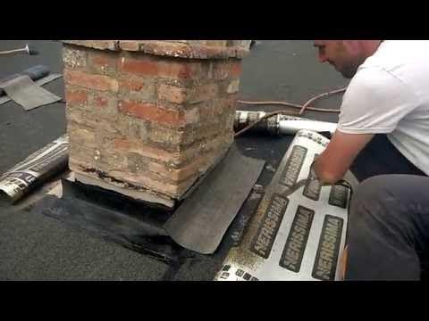 Tetto caldo praticabile: Impermeabilizzare una canna fumaria