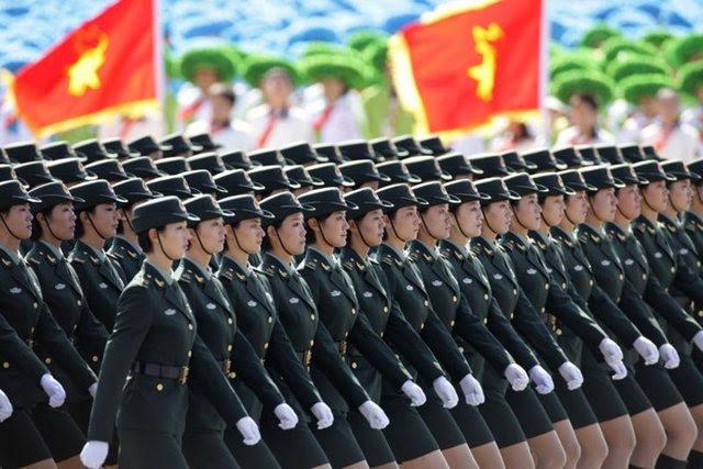 Çin'den güç gösterisi