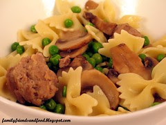 Sausage with Farfalle