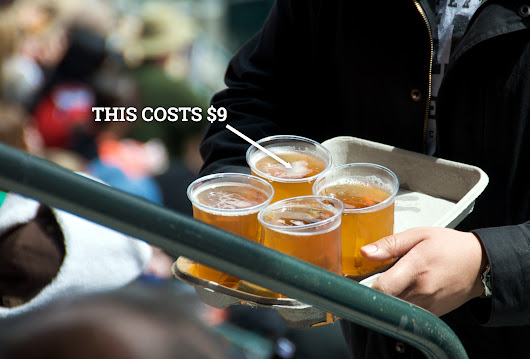 Overpriced Football Stadium Beer - Detroit Lions, Seattle Seahawks Have Most Inflated Beer Prices