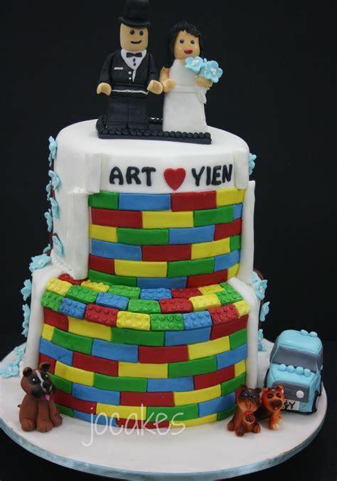 Lego Wedding cake   jocakes