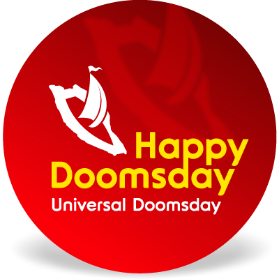 Rounded web 2.0 Universal Doomsday Font