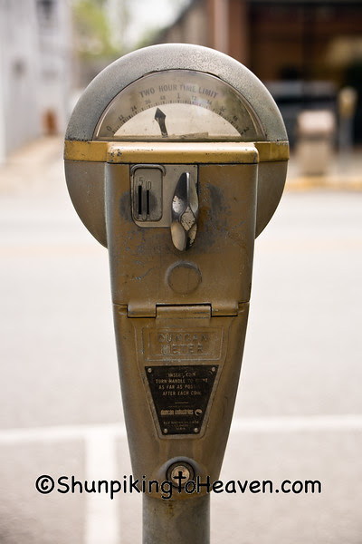 Old-Fashioned Parking Meter, Bethel, Ohio