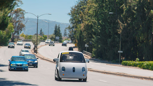 Google's adorable self-driving cars are now on public roads