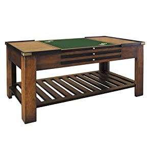 Amazon.com: Game Table No 2 - Antique Style Solid Wood Furniture ...