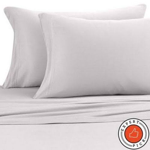 Pure Beech Jersey Knit Modal Twin XL Sheet Set In Heather Grey