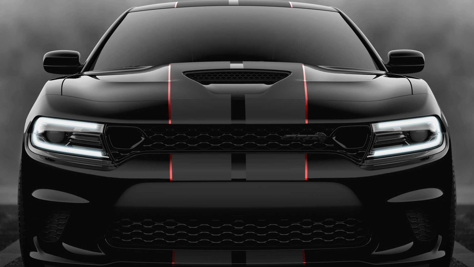 2019 Dodge Charger Srt Hellcat Octane Edition Color Pitch Black