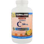 Kirkland Signature Vitamin C, Tablets - 500 count