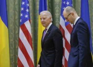 "Il vicepresidente Joe Biden con ""Yats"""