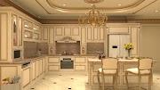 Gian bếp biệt thự đẹp với kinh nghiệm lựa chọn nội thất sau