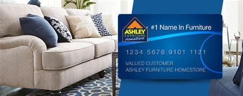 ashley furniture homestore credit card storecreditcardsorg