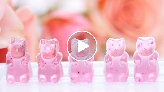 DIY Rosé Wine Gummy Bears