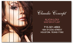 BCS-1006 - salon business card