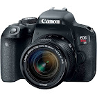 Canon EOS Rebel T7i 24.2 MP Digital SLR Camera - EF-S 18-55mm IS STM Lens