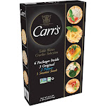 Carr's Table Water Crackers Variety Pack - 25.5 oz box