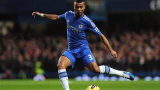 Chelsea left-back Ashley Cole