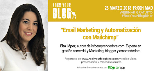 RockYourBlogBinar, fórmate con referentes del Marketing Digital