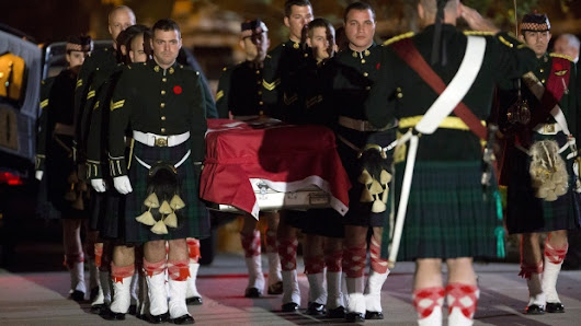 'Nathan was Canada's son': Cpl. Cirillo's body returned home