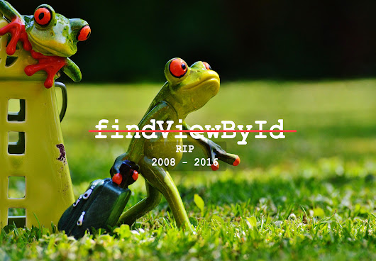 Say goodbye to findViewById with automatically View finding provided by Data Binding Library
