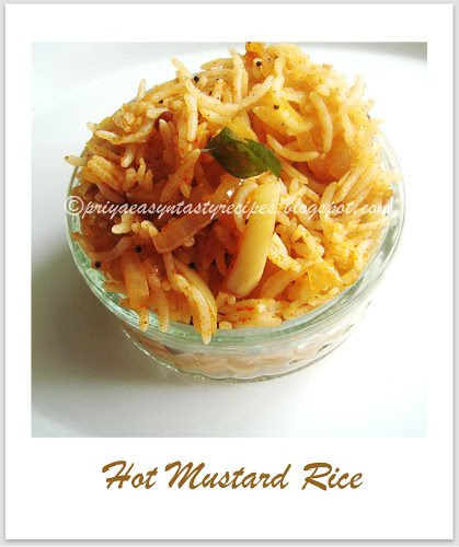 Hot Mustard Rice