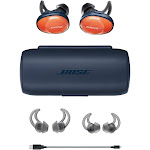 Bose SoundSport Free Truly Wireless In-Ear Comfortable Headphones Bright Orange