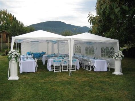 outdoor party for 40 guests   Jo Annes Wedding Design and