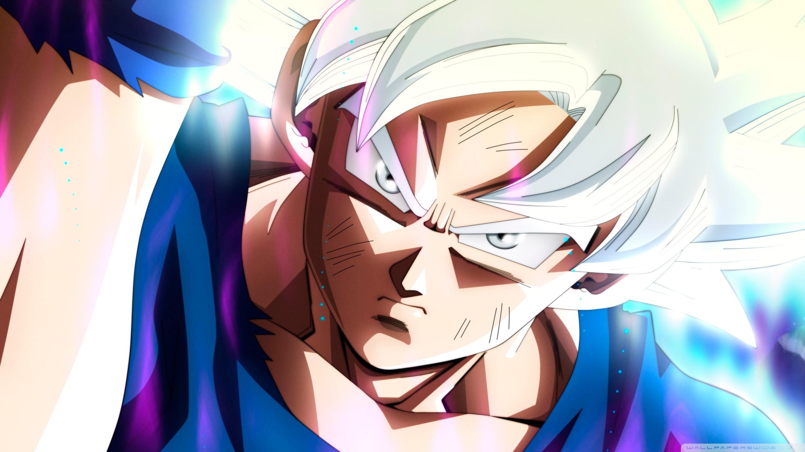 Ultra Instinct Goku Dragon Ball Super Ultra Hd Desktop Background