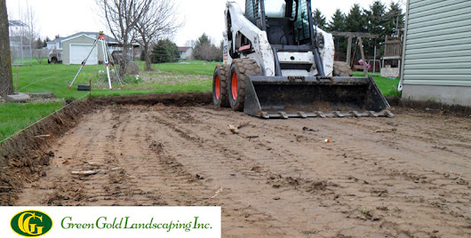 What is Landscape Grading? - Green Gold Landscaping Inc