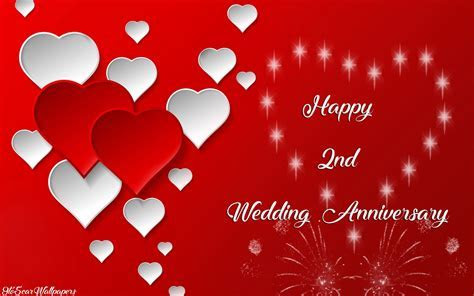Second Marriage Anniversary Images & Downloads   RED AND