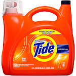 Tide Ultra Concentrated Liquid Laundry Detergent, Original, 146 Loads 200 fl oz