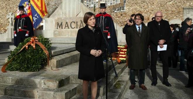 La presidenta del Parlament Carme Forcadell. - EFE