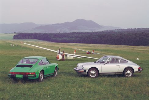 A 1976 912E Coupe and Targa.
