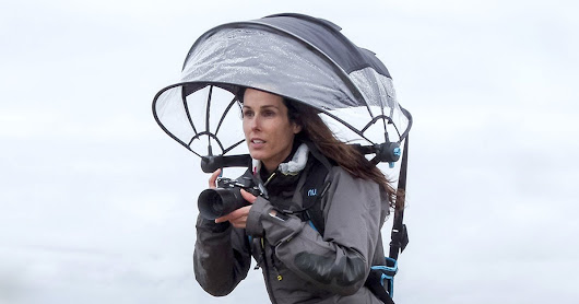 Nubrella is a Hands-Free Umbrella That Can Keep Your Camera Dry