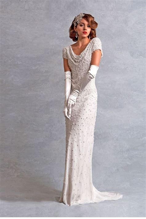 Old School Glamour   Eliza Jane Howell Wedding Gowns