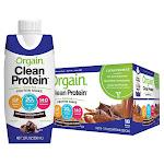 Orgain Clean Grass Fed Protein Shake 11 fl oz, 18-Count
