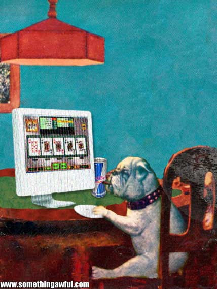 dogs playing poker in the new millenium