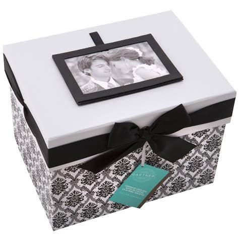 Gartner® Studios Black & White Keepsake Card Box