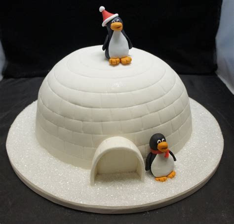 Pin Penguin And Igloo Birthday Cake Star Bakery Liana Tags