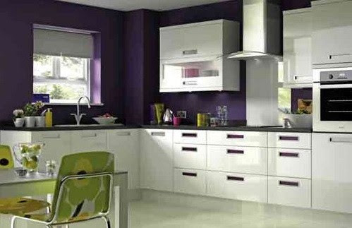 Small L Shaped Kitchen Cabinet Design | afreakatheart