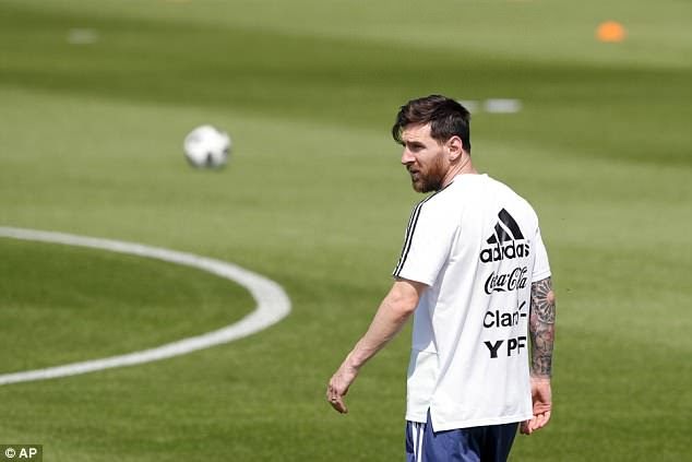 Lionel Messi will be looking to drag Argentina out of trouble and into the last 16 against Nigeria